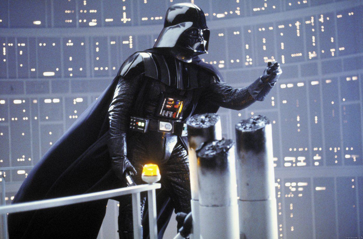 EINMALIGE VERWENDUNG et Darth Vader