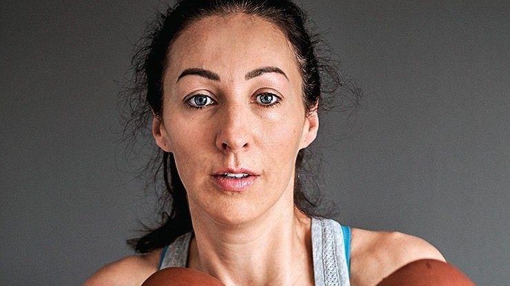 Hart, aber fair: Doreen Huber (37)
