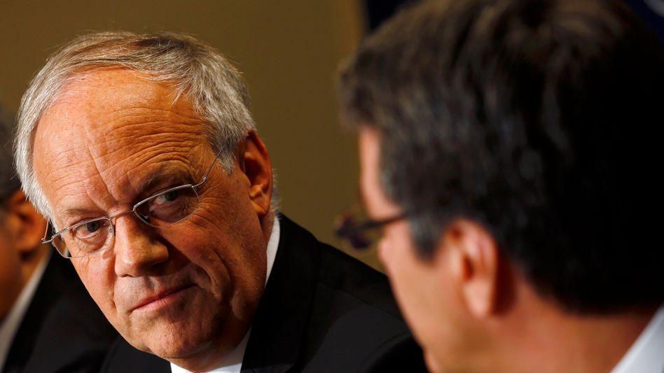"""Minister Schneider-Ammann: """"Wenn man in einer internationalen Gruppe die hiesigen Arbeitsplätze sichern will, ist es legitim, die Steuern zu optimieren."""""""