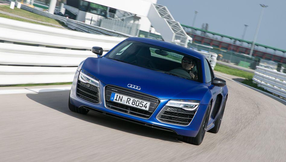 Sportwagen Audi R8: In Berlin jetzt auch im Carsharing erhältlich - für rund 1800 Euro Miete monatlich