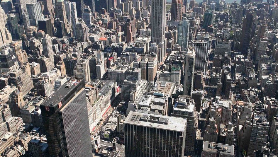Skyline von Manhattan: Offene Immobilienfonds investieren rund um den Globus