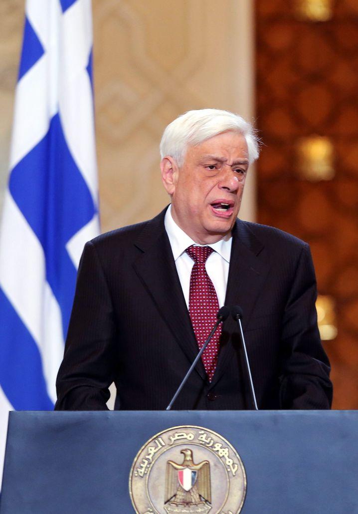 Pavlopoulos: Antrittsbesuch bei Bundespräsident Gauck abgesagt