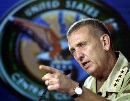 """General Tommy Franks: """"Wir sind im Zeitplan"""""""
