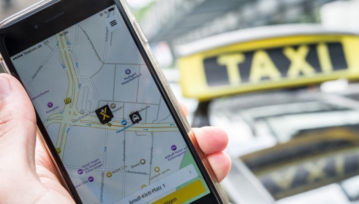 MyTaxi: Von dem Hamburger Taxivermittler will Daimler über digitale Mobilitätsplanung lernen
