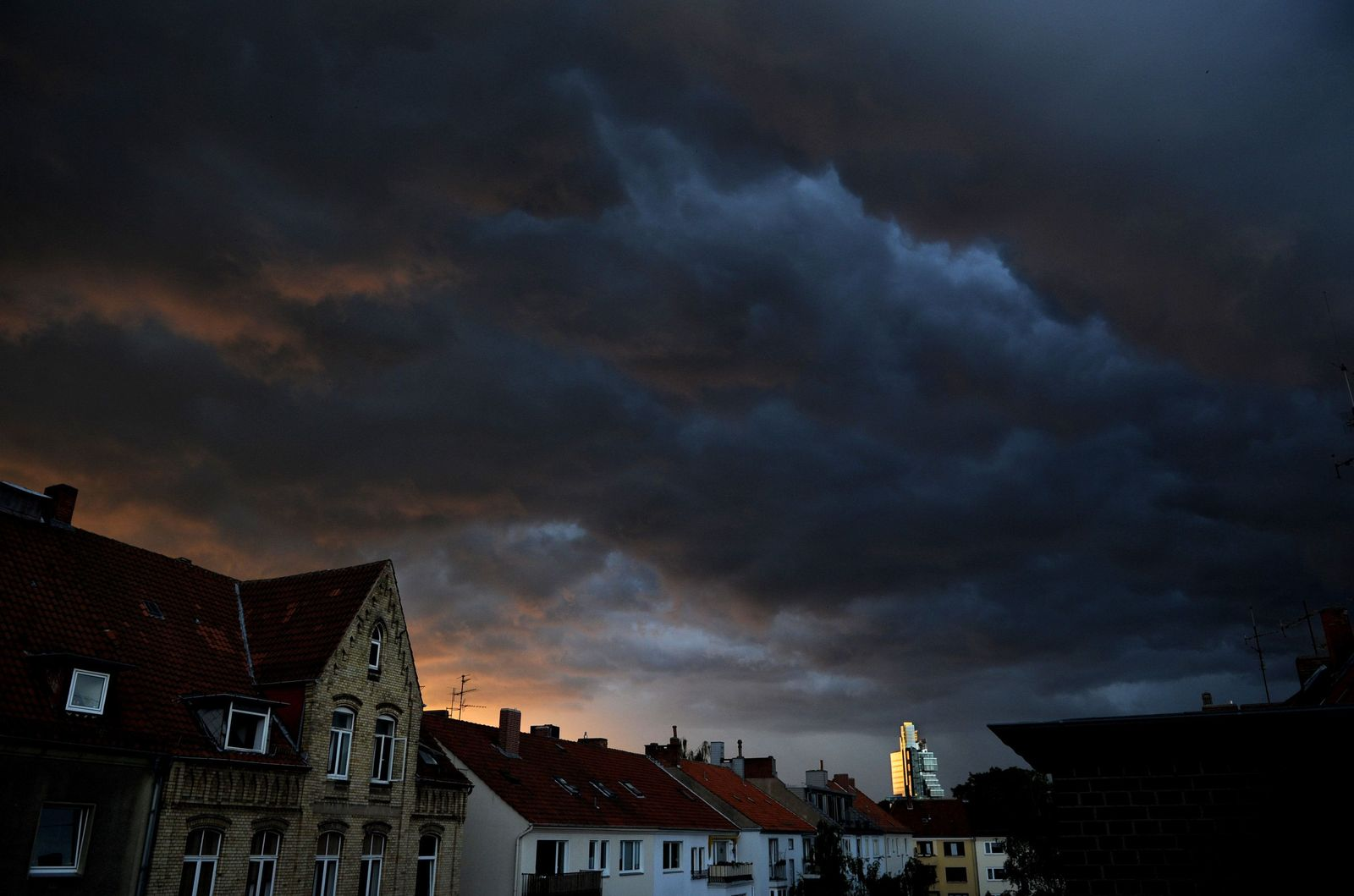 Gewitter/ Wolken
