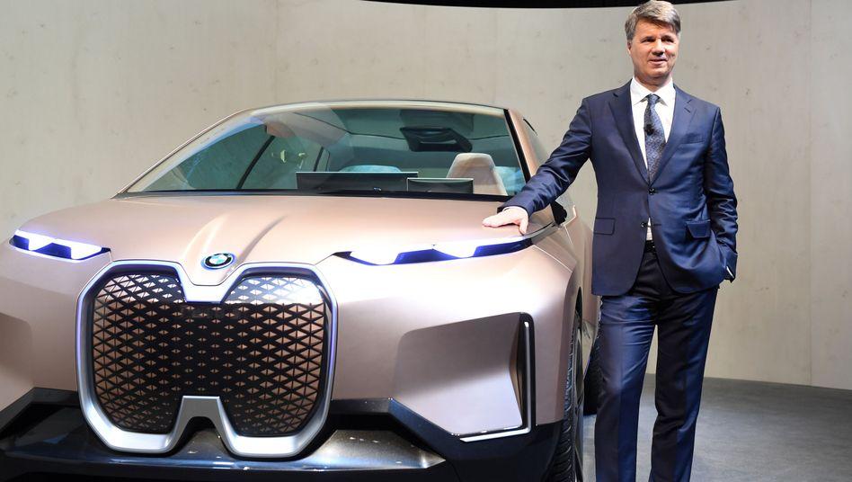 BMW-Chef Harald Krüger: Der Konzern schreibt im Autogeschäft im ersten Quartal operativ einen Verlust
