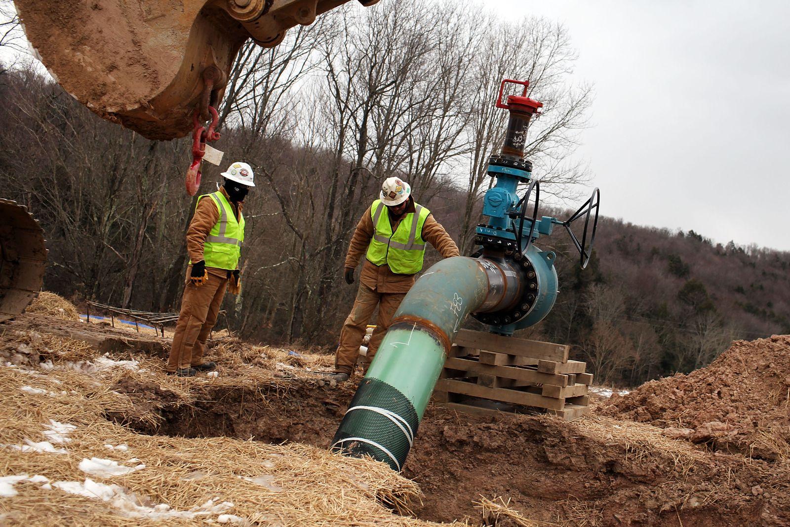 Fracking / Schiefergas / Bohrung