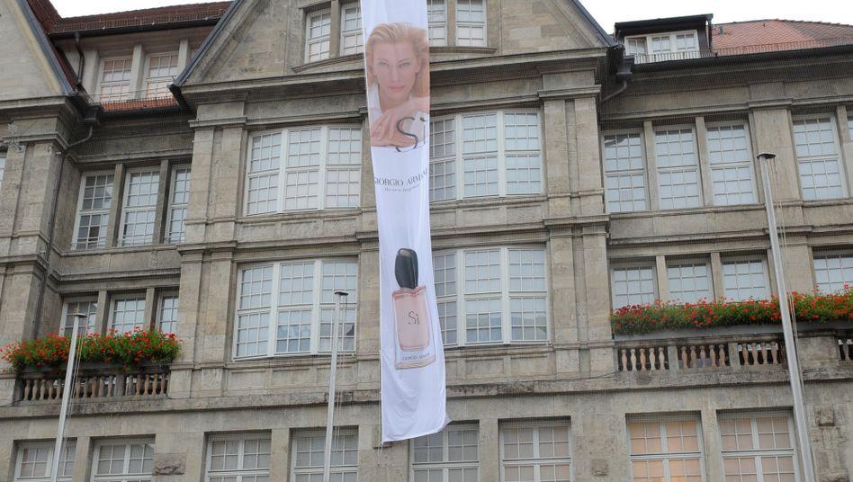 Edelkaufhaus Oberpollinger in München: Die wenigsten Senioren dürften hier shoppen gehen. Gemessen an der Kaufkraft ist ihre Rente in der Landeshauptstadt ohnehin am wenigsten wert in Deutschland