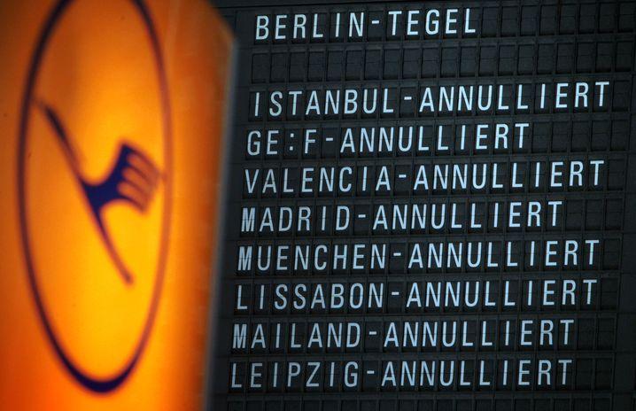 Hohe Kosten: Die Lufthansa hat bereits hunderte Millionen Euro durch Arbeitskämpfe verloren