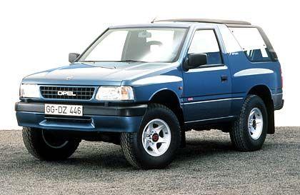 Der Blitz fürs Grobe: Opel Frontera (seit 1991)