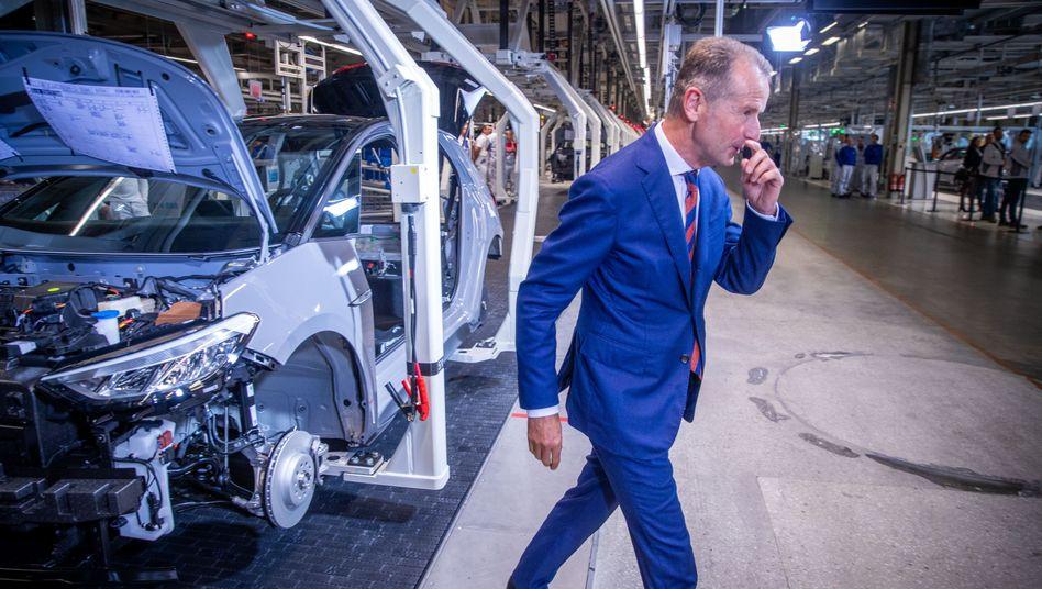 """Herbert Diess: Der VW-Chef erhält """"mehr Freiraum"""" für die Führung des weltgrößten Autobauers ..."""