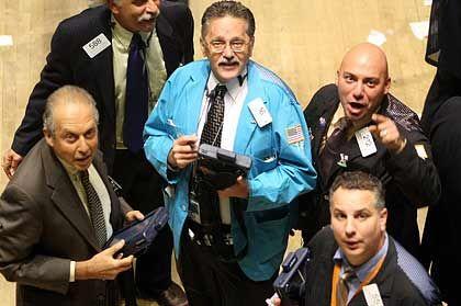 Fed, hilf: Händler an der Wall Street
