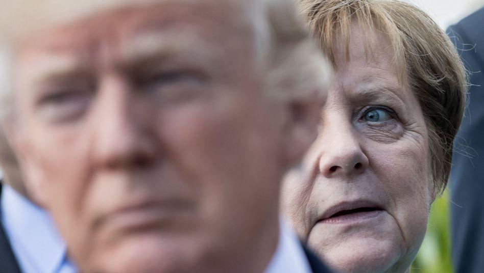 Trump, Merkel: G19 und ein Geisterfahrer