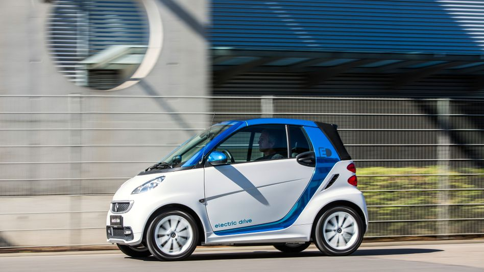 Smart Electric Drive: Daimler setzt weiterhin auf Elektromobilität - doch die Batteriefabrik in Kamenz hat die Erwartungen des Konzerns bislang nicht erfüllt