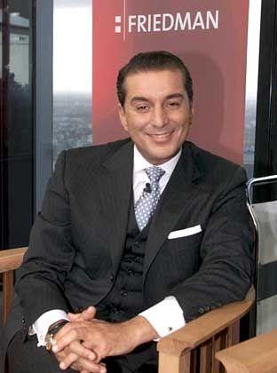 """Gefürchtet als """"TV-Scharfrichter"""": Michel Friedman"""