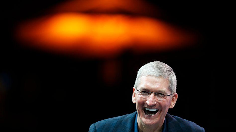 Apple-Chef Cook: 34.000 iPhones pro Stunde