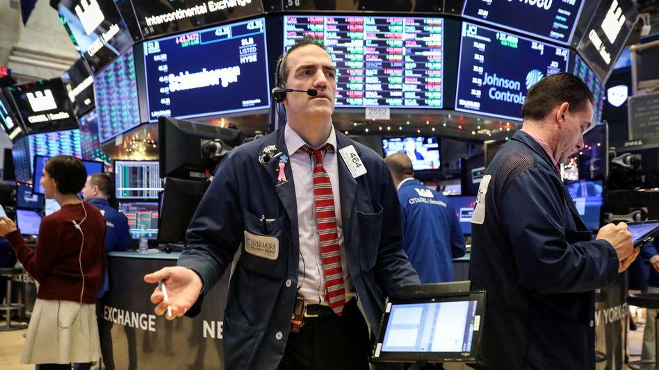 Dow Jones: Erholung nach Kurssturz