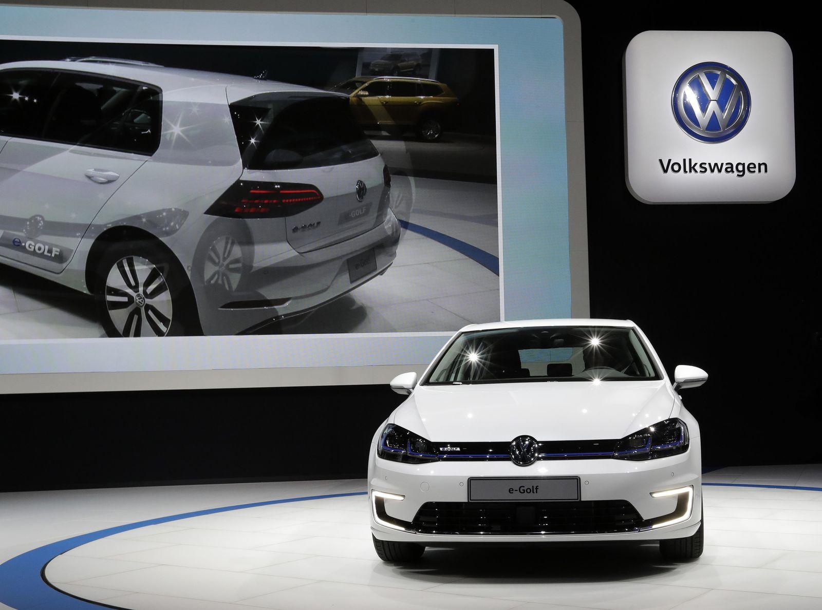 LA Auto Show Volkswagen