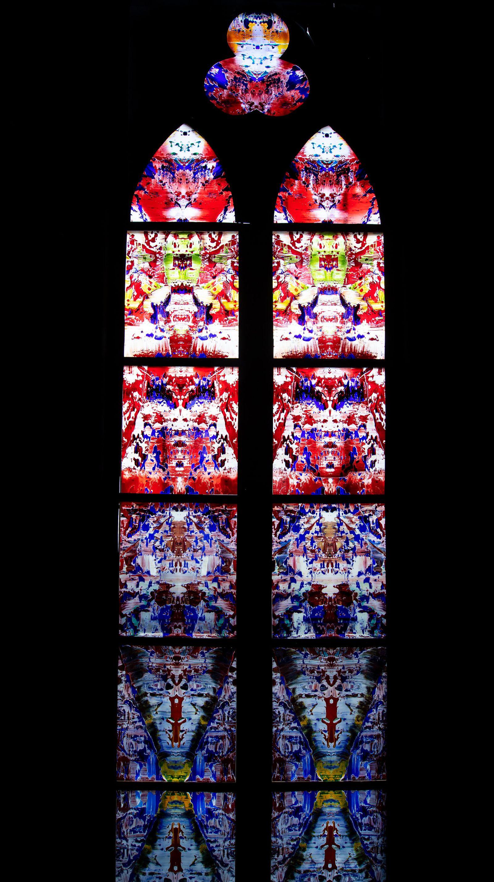 Künstlerfenster für die Abtei Tholey