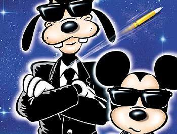 Titelblatthelden von damals: Goofy und Micky Maus (29. August 1951)