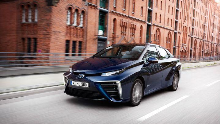 Brennstoffzellen-Auto Toyota Mirai: Das ist Toyotas Mirai