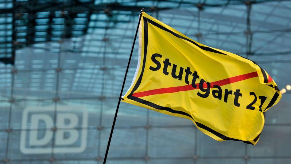 Umstrittenes Projekt: Angeblich waren die Angaben der Bahn zu den Kosten von Stuttgart 21 nicht immer korrekt