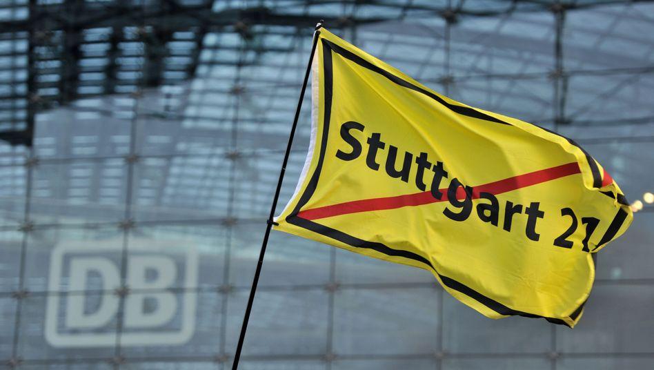 """""""Stuttgart 21"""": Die Projektgegner werfen der Bahn vor, Zusagen nicht einzuhalten"""