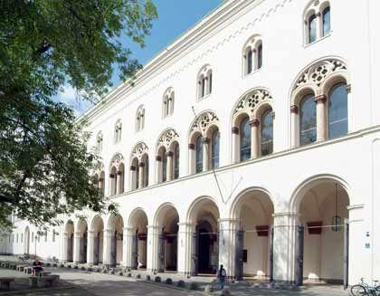 Unter den Top 10 der Jura-Hochschulen: Ludwig-Maximilians-Universität in München