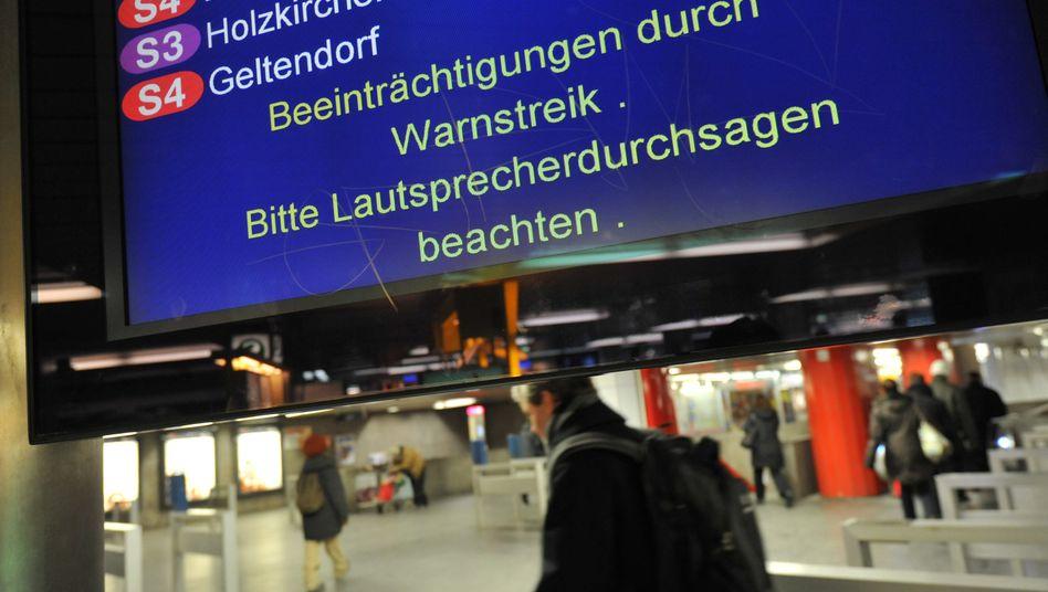 Nach dem Streik ist vor dem Streik: Lokführer nerven heute wieder Deutschland