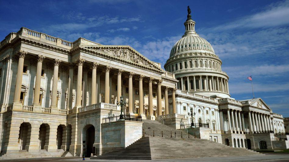 Kapitol in Washington: Die US-Staatsverschuldung ist auf 99 Prozent des Bruttoinlandsprodukts gestiegen