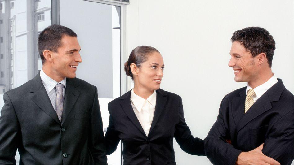 Führungskräfte: Management- und Führungsqualitäten sind für Deutschlands Personalverantwortliche die wichtigsten Eigenschaften. Weiche Themen wie die Work-Life-Balance hielten dagegen nur 1 Prozent der Befragten für wichtig
