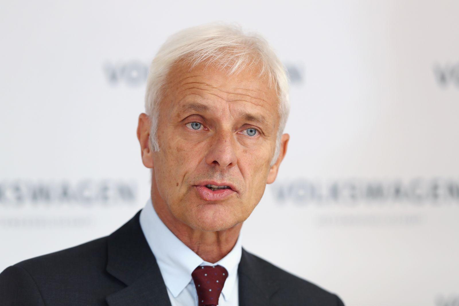Matthias Müller / VW