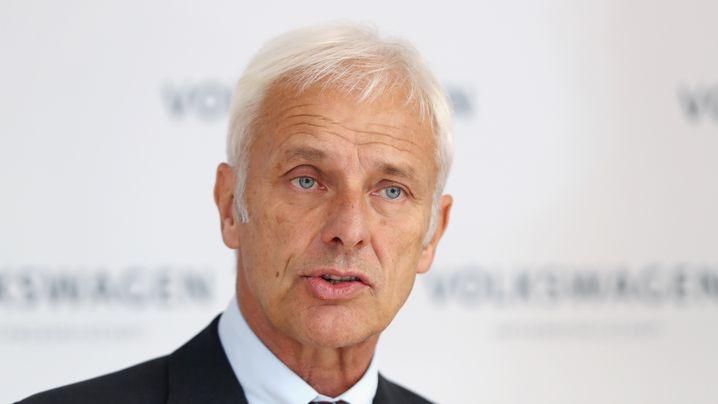 Staatsanwälte ermitteln gegen VW-Chef Müller: Welchen VW-Größen Ermittler am Hals haben