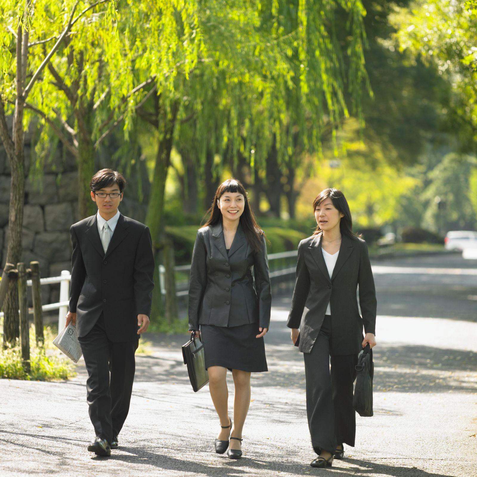 NICHT MEHR VERWENDEN! - Japan / Businessfrauen / Geschäftsfrauen