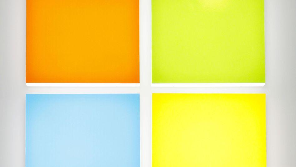 Bunte Kacheln: Microsoft mit neuem Logo