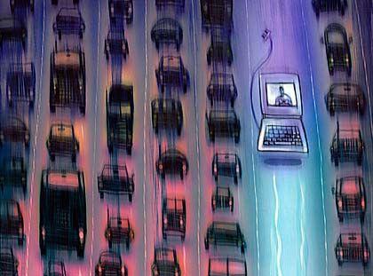 """Schnell unterwegs auf der Datenautobahn: """"Wo die Telekom sich weigert, springen kleine Funkanbieter ein"""""""