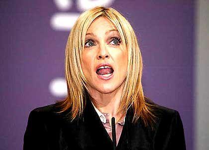 Madonna bei der Verleihung des Turner Prize