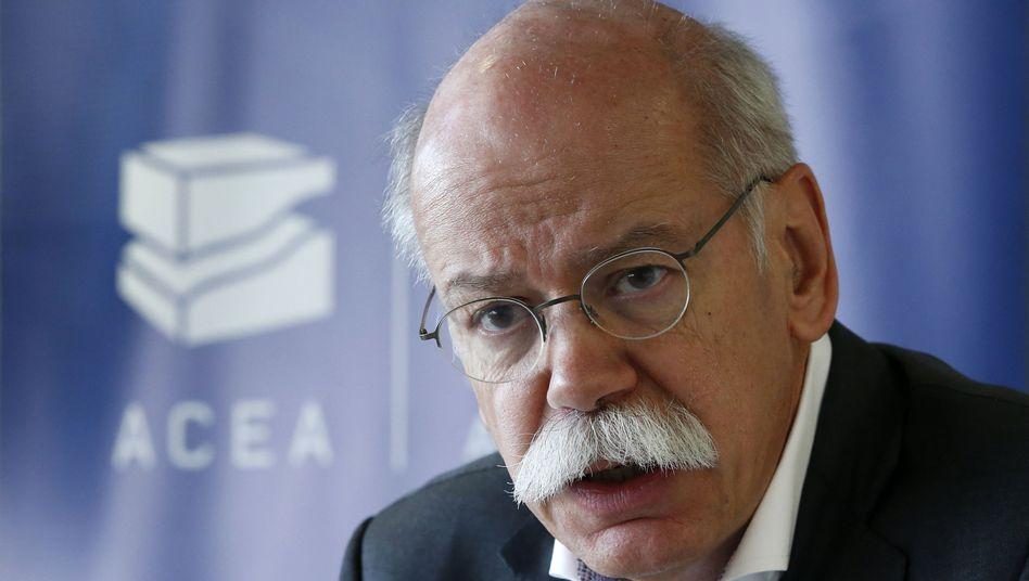 Daimler-Chef: Dieter Zetsche nimmt nun Kurs auf Erzkonkurrenten BMW