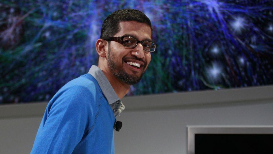 """Pichai: Als Page-Nachfolger soll der Manager laut dem Branchenblog """"Recode"""" nicht gesehen werden"""