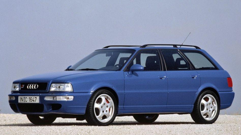 ZWEI SEELEN Bei Audi hieß der Avant RS2 auch P1 (P für Porsche)