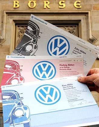 Zockerpapier: Die VW-Stammaktie hat sich völlig vom Wert des Unternehmens gelöst