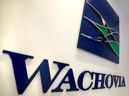 Unsichere Zukunft: Die viertgrößte US-Bank Wachovia könnte aufgespalten werden