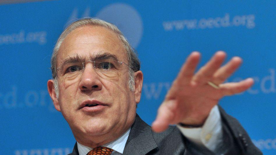 """OECD-Generalsekretär Angel Gurria: """"Effekte der fiskalischen Konsolidierung stärker als üblich"""""""
