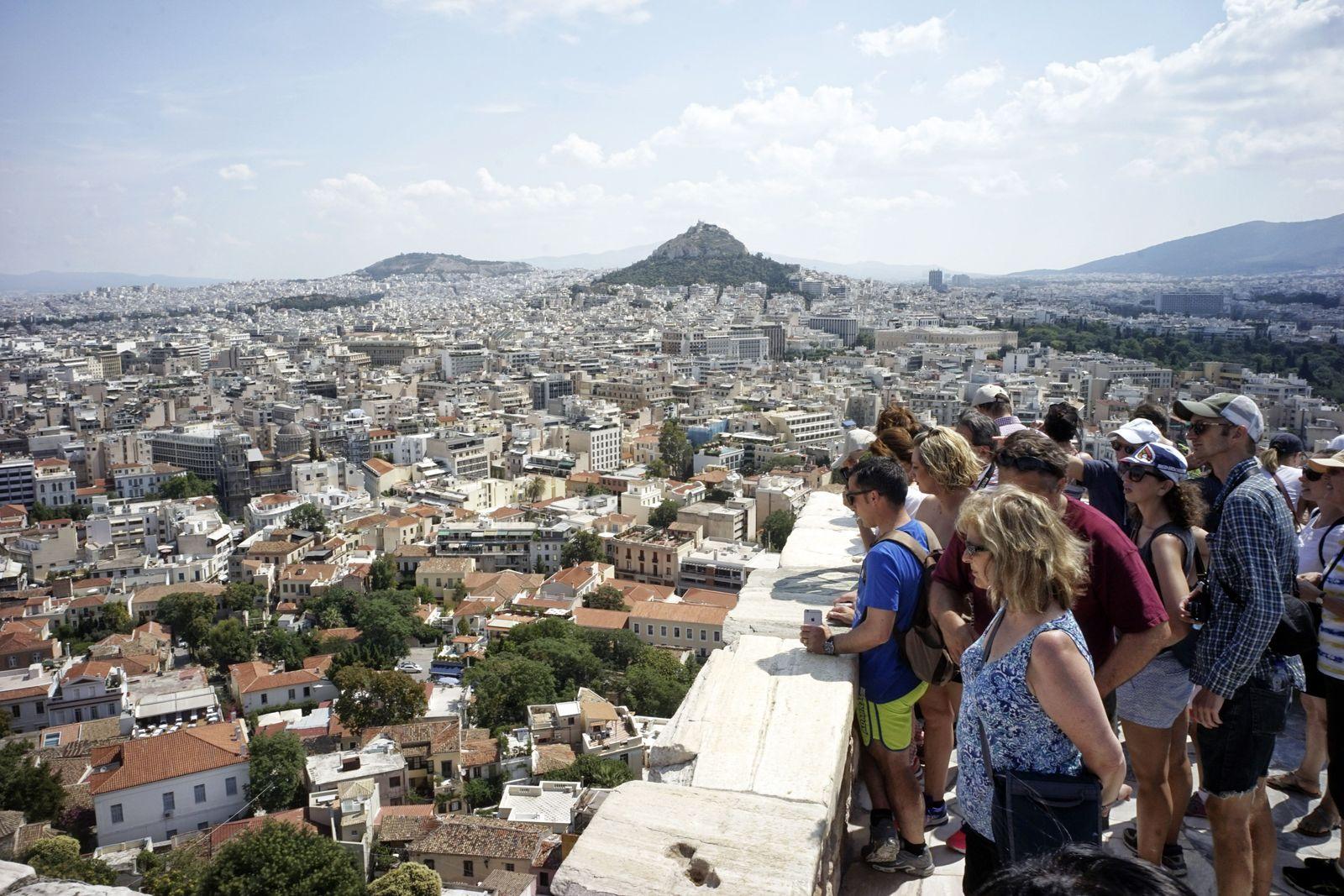Athen/ Touristen