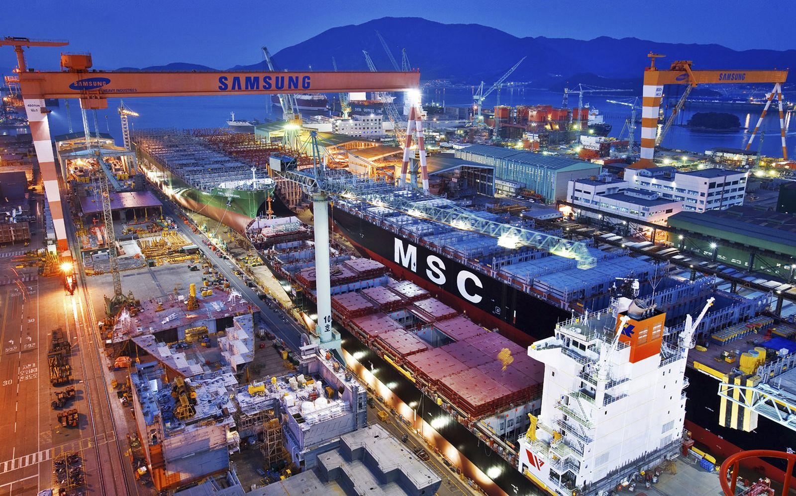 Samsung Heavy Industries / Shipyard