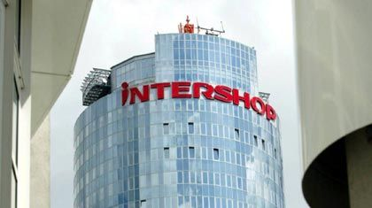 Der schiefe Turm von Jena: Intershop-Unternehmenszentrale