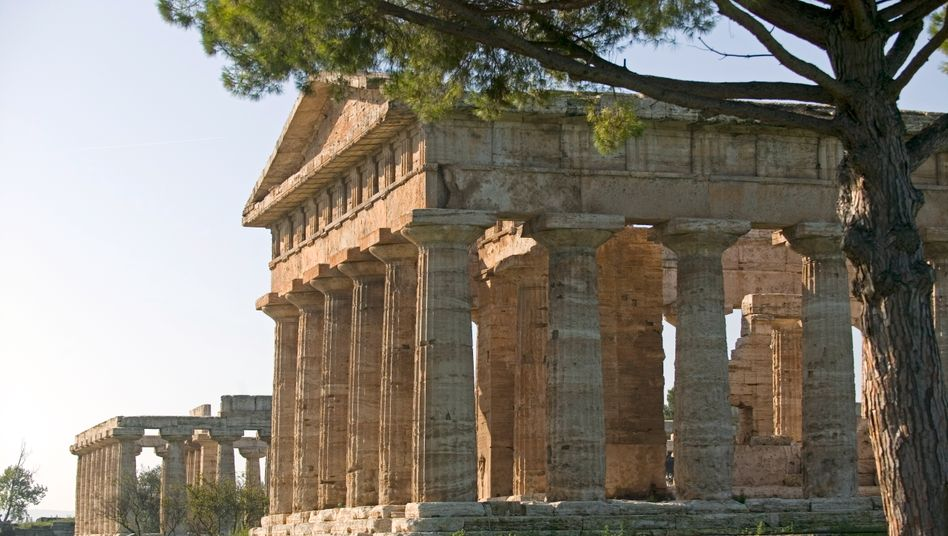 Ein Fall für die Götter? Griechenland ist im Euro nicht wettbewerbsfähig.