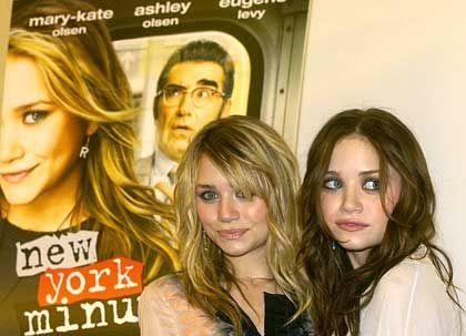 Längst den Kinderschuhen entwachsen: Mary-Kate und Ashley Olsen