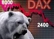 Der Bär brüllt und herrscht: Binnen drei Jahren verlor der Deutsche Aktienindex mehr als 70 Prozent an Wert