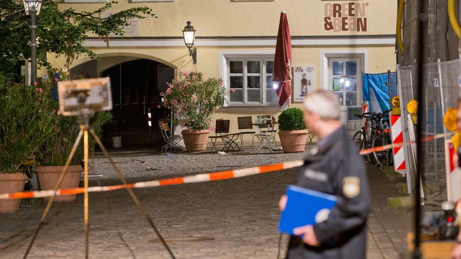 Bombenanschlag in Ansbach: Ein 27-jähriger zündete einen Sprengsatz in seinem Rucksack